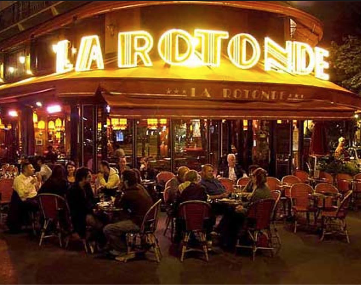 La Rotonde is Our Go To Neighborhood Brasserie Frequented by Ghosts of Hemingway