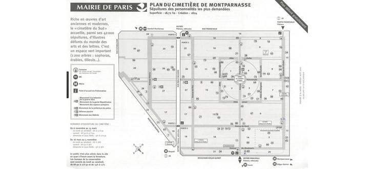 Cimietière Montparnasse: a favorite haunt in our neighborhood